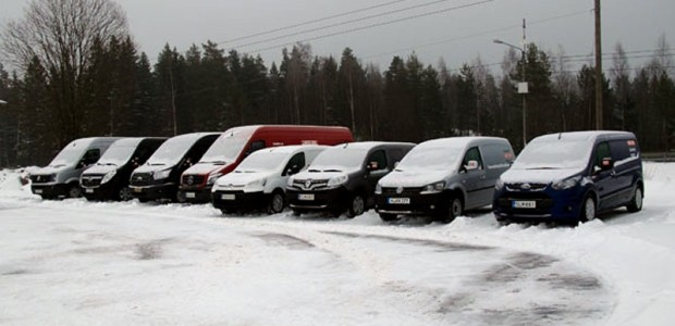 Arctic Van Test 2014_Anlegg&Transport