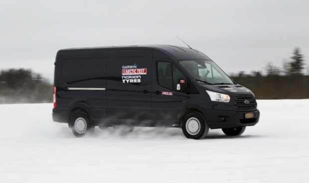 Arctic Van Test 2014_Transit_Fleet Transport