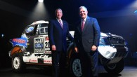 """Notiekošajā Ženēvas motoršovā """"Ford"""" stendā redzams arī šā gada Dakaras morotonā dalību ņēmušais pikaps """"Ford Ranger"""", kas ar """"Ford Motor""""..."""
