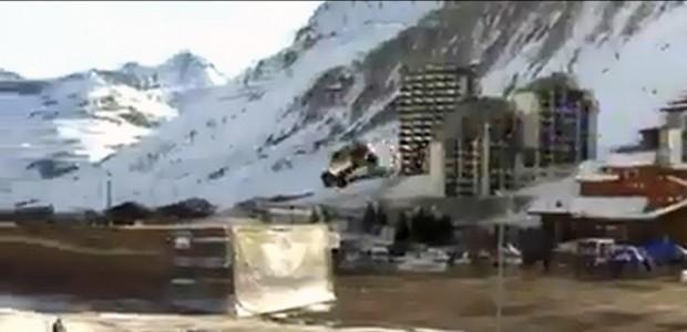 Guerlain Chicherit jump for record