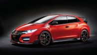 """Kā jau iepriekš bija solīts, """"Honda"""" Ženēvas izstādes starmešu gaismā izbrauca kompekthečbeka """"Civic"""" sportiskās modifikācijas """"Type R"""" pirmssērijas prototipu. Ražotāja..."""