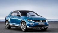 """Kompānija """"Volkswagen"""" Ženēvas autoizstādē prezentējusi krosovera konceptu """"T-Roc"""", kas gabarītu ziņā ir mazāks par kompakto """"Tiguan"""". Kā var nojaust, arī..."""
