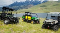 """Amerikāņu lauksaimniecības tehnikas ražotājs """"Deere&Company"""" ir laidis tirgū atjauninātus """"Gator"""" kravas-pasažieru modeļu līnijas kvadriciklus. Kā pirmais jaunums – visu modeļu..."""
