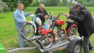"""Šajā nedēļas nogalē Ķīpsalā, izstādē """"Motocikls 2014"""" ikviens ir aicināts aplūkot unikālu bijušās Rīgas motorūpnīcas """"Sarkanā zvaigzne""""mopēdu, mokiku un motovelosipēdu..."""