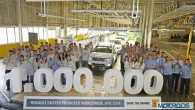"""Pagājušās nedēļas nogalē kompānijas """"Renault"""" Brazīlijas filiālē, Kuritibas montāžas rūpnīcā svinīgos apstākļos tika sagaidīts krosovera """"Duster"""" miljonais eksemplārs. Budžeta klases..."""