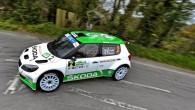 """Ar """"Škoda"""" rūpnīcas komandas ekipāžu dubultuzvaru noslēdzies Īrijas rallijs, Eiropas čempionāta ceturtais posms. Atgādināsim, ka 2012. gadā, kad Ziemeļīrijas asfalta..."""