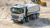 """SIA """"Domenikss"""" starptautiskās """"Mercedes-Benz Euro VI Truck Road Show"""" tūres ietvaros esošajiem un potenciālajiem klientiem prezentējis savus jaunākās paaudzes kravas..."""