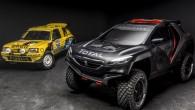 """Ilustrējot savas rallijreidu programmas progresu, """"Peugeot"""" motoru sporta nodaļa publicējusi topošās sacīkšu mašīnas pirmos attēlus. Atšķirībā no rallija, kur par..."""