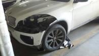 """Aprīļa vidū Rīgā, Purvciemā kādas daudzdzīvokļu ēkas pazemes stāvvietā automašīnai """"BMW X6"""" no virsbūves izgriezti un nozagti dārgi LED lukturi,..."""