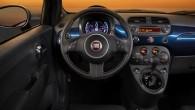 """Modernizācijas rezultātā itāļu mazā vabolīte """"Fiat 500"""" ir ieguvusi krāsainu digitālo mērinstrumentu bloku. Atjauninātā hečbeka """"500"""" pirmizrāde paredzēta pēc nedēļas..."""