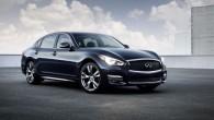 """Autoražotāja """"Nissan"""" premiālais zīmols """"Infiniti"""" Ņujorkas autoizstādē prezentējis atjaunināto sedanu """"Q70"""", kas iepriekš bija pazīstams kā M-modelis, kā arī tā..."""