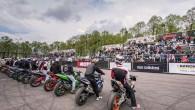 """Kamēr Biķernieku trasē norisinājās Latvijas drifta čempionāts, Grīziņkalna sporta kompleksā """"Ghetto Games"""" rīkoja Austrumeiropas čempionāta 2. posmu ielu motociklu frīstailā...."""