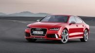 """Dinamiskā piecdurvju kupeja ieguvusi jaunus priekšējos lukturus un 4,0l TFSI dzinēju ar 560ZS jaudu un cilindru atslēgšanas sistēmu COD. """"Audi..."""