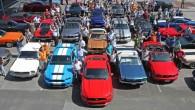 """Par godu """"Ford Mustang"""" 50 gadu jubilejai pagājušās nedēļas nogalē Vācijā norisinājās Eiropā līdz šim lielākais leģendāro amerikāņu muskuļauto salidojums...."""