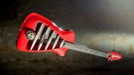 """Britu mūzikas instrumentu meistari no kompānijas """"Harrison Custom Guitar"""" ir izgatavojuši oriģinālu ģitāru, kuras dizaina stilistika un materiāli ir aizgūti..."""