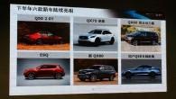 """Japāņu premiālā zīmola """"Infiniti"""" slēgtā dīlerus sanāksmē Ķīnā tika parādīts attēls, kurā redzamas kompānijas jauno modeļu tuvākajā laikā gaidāmās pirmizrādes...."""