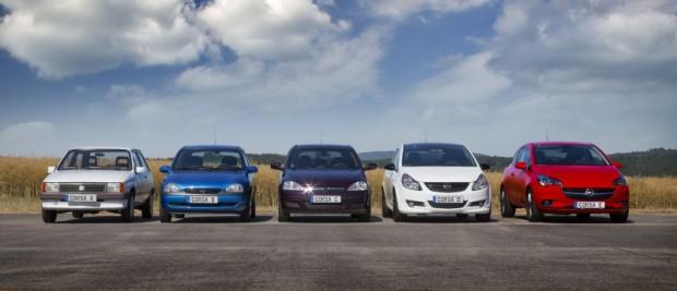 Opel Corsa models