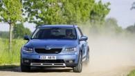 """Precīzi, kā tika apsolīts Ženēvas autosalona laikā, kad """"Škoda"""" izrādīja """"Octavia Scout"""" pirmssērijas prototipu, visādceļu braucējs tirgū ir gaidāms ierodamies..."""