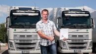 """Izskaņai tuvojas """"Volvo Trucks"""" rīkotā kravas automobiļu vadītāju ekonomiskas braukšanas sacensību The Drivers Fuel Challenge Latvijas posma kvalifikācija, kurā noskaidrosies..."""