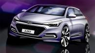 """Desmit dienas pirms oficiālās pirmizrādes korejiešu ražotājs """"Hyundai"""" publicējis pāris jaunās paaudzes hečbeka """"i20"""" zīmētus attēlus. Kā vēstīts medijiem izplatītajā..."""