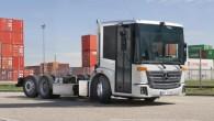 """Starptautiskajā komerctransporta izstādē """"IAA-2014"""" kompānija """"Mercedes-Benz"""" gatavojas prezentēt ar gāzes dzinēju aprīkotu komunālo kravas automobili ar zemās grīdas kabīni """"Econic""""...."""