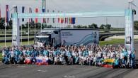 """Pagājušajā piektdienā, 29.augustā Slovakia Ring trasē netālu no Bratislavas notika """"Volvo Trucks"""" organizētā kravas auto vadītāju konkursa The Drivers' Fuel..."""