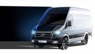 """Korejiešu ražotājs """"Hyundai"""" jau tuvākajā laikā gatavojas laist tirgū vieglo kravas furgonu """"H350"""", kas kļūs par """"Iveco Daily"""", """"Peugeot Boxer"""",..."""