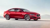 """Britu ražotājs """"Jaguar"""" Londonā sevišķi izmeklētai publikai prezentējis savu jaunāko un šobrīd pieejamāko modeļu gammas pārstāvi – vidējās klases sedanu..."""