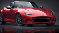 """Paralēli trijos prezentācijas pasākumos Spānijā, ASV un Japānā """"Mazda"""" atklājusi jaunās paaudzes rodsteru """"MX-5"""". Divvietīgā automobiļa dizains veidots raksturīgajā «kustības..."""