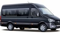 """Hanoverē notikušajā komerctransporta izstādē """"IAA-2014"""" korejiešu ražotājs """"Hyundai"""" prezentēja daudzfunkcionālo furgonu """"H350"""". Kā liecina ražotāja izplatītā informācija, """"H350"""" ir veidots..."""