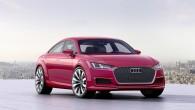 """Vācu kompānija """"Audi"""" Parīzes autoizstādē prezentē prototipu """"TTSportback"""" – ātru sporta automobili ar četrām sēdvietām un četrām sānu durvīm. Izstādes..."""