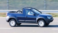 """Rumāņu autoražotājs """"Dacia"""" izplatījis pirmos oficiālos """"Duster"""" pikapa attēlus un virspusēju informāciju par šo modeli. Kā izrādās, tas nav īsti..."""