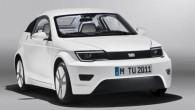 """Minhenes Tehniskās universitātes studentu grupa ekoloģisko transportlīdzekļu izstādē """"eCarTec"""" prezentējusi interesantu konceptu """"Visio M"""". Pieejamā un drošā elektromobiļa – tā..."""