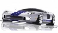 """Par godu leģendārā modeļa """"GT40"""" piecdesmitgadei kompānija """"Ford"""" iecerējusi 2016. gadā laist klajā sporta kupejas trešo paaudzi. Turklāt """"GT40"""" pēcteci..."""