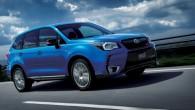 """Japānā notikusi """"Subaru"""" apvidus automobiļa """"Forester"""" sportiskās modifikācijas """"ts STi"""" pirmizrāde. """"Forester STi"""" no bāzes modeļa atšķiras ar agresīvāk veidotu..."""