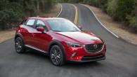 """Tieši Losandželosas starptautiskā auto salona atvēršanas priekšvakarā japāņu kompānija """"Mazda"""" ir izplatījusi internetā jaunā visādceļu braucēja """"CX-3"""" pirmos attēlus. """"Mazda..."""