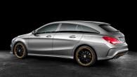 """Vairs nav nekāds noslēpums, ka vācu kompānija """"Mercedes-Benz"""" gatavo sērijveida ražošanai uz sedana """"CLA"""" bāzes izveidotu universālu. Nupat ražotājs nodevis..."""