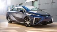 """Pirmais ar degvielas šūnu elementiem aprīkotais """"Toyota"""" modelis – """"Mirai"""" – ar vienu uzpildi/uzlādi ir veicis 502 km, ievērojami pārspējot..."""
