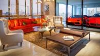 """Singapūrā uzcelta pirmā daudzdzīvokļu māja """"Hamilton Scotts"""", kur ikvienā dzīvoklī ir speciāla """"istaba"""", kas paredzēta divām automašīnām. Ēkai ir 56..."""