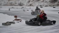 """Šo svētdien, 25. janvārī, sporta kompleksa 333 veikparkā norisināsies pirmās """"Gymkhana.lv Ice Kart 2015″ sacīkstes īres ziemas kartingā uz ledus,..."""