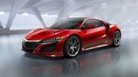 """""""Honda"""" ir radījusi turpinājumu """"NSX"""" leģendai – spilgti sarkani krāsotā """"Acura"""" superauto jaunās paaudzes pirmizrāde kļuva par vienu no galvenajiem..."""
