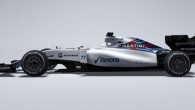"""""""Williams"""" F1 komanda kā pirmā no aizkulisēm izstūmusi savu 2015. gada sezonai sagatavoto sacīkšu mašīnu, kas marķēta ar modeļa indeksu..."""