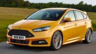 """Kompānija """"Ford"""" plāno šā gada nogalē laist tirgū """"karsto"""" hečbeku """"Focus ST"""" aprīkotu ne tikai ar dīzeļdzinēju, bet arī ar..."""