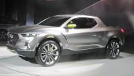 """Kur gan atrast atsaucīgāku publiku, lai parādītu jaunāko pikapa konceptu, ja ne ASV. Un tā, """"Hyundai"""" Detroitas autoizstādē demonstrē atraktīvu..."""