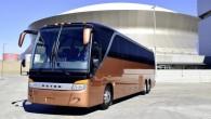 """Vācu autobusu ražotājs """"Setra"""" Ņuorleānā (ASV) notikušajā starptautiskajā izstādē """"UMA Motorcoach Expo"""" prezentēja sevišķi ekskluzīvas komplektācijas """"TopClass S417TC"""". Šajā """"Setra""""..."""