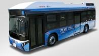 """Japāņu kompānijas """"Toyota"""" speciālisti reālos apstākļos testē elektriskās piedziņas autobusu ar degvielas šūnu elementu enerģijas apgādes sistēmu. Patiesībā autobusa šasija..."""