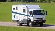 """Vācu kompānija """"Bimobil"""", kas jau 40 gadus specializējas kemperu izgatavošanā klientiem, kam patīk ceļojumi prom no civilizācijas, izgatavojusi portatīvo brīvdienu..."""