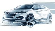 """Korejiešu ražotājs """"Hyundai Motor"""" atklājis pirmās dizaina nianses drīzumā gaidāmajam jaunajam, kompaktajam krosoveram """"Tucson"""", kas mūsu tirgū pazīstams kā """"ix35""""...."""