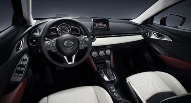 """""""CX-3"""" salons pamatā aigūts no """"Mazda2"""""""