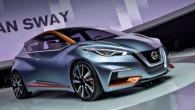 """Kā jau bija gaidāms, kompānijas """"Nissan"""" pārstāvji ir apstiprinājuši, ka atraktīvais mazauto koncepts """"Sway"""", kas plašākai publikai tika izrādīts pirms..."""
